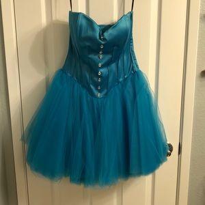 Rare Blue Betsey Johnson Dress
